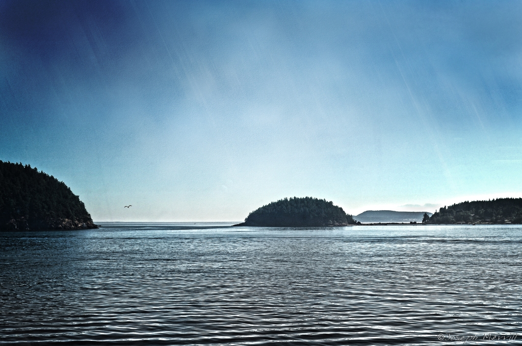 Passing Through San Juan Islands